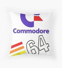 Commodore 64 Throw Pillow