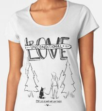 Dog Lovers With Style Women's Premium T-Shirt