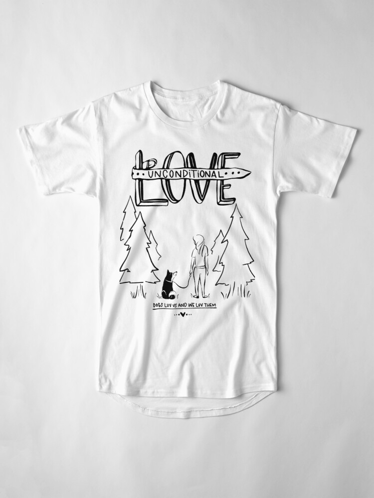 Alternate view of Dog Lovers With Style Long T-Shirt