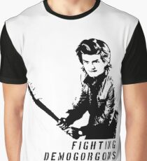 Steve Fighting (Stranger Things) Graphic T-Shirt