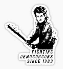 Steve Fighting (Stranger Things) Sticker
