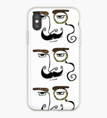 Monocled Hipster iPhone Case