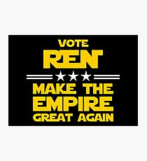 Make The Empire Great Again Photographic Print