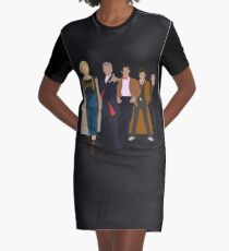 Doctor Who - All Five Modern Doctors - New Costume! (DW Inspired) Graphic T-Shirt Dress
