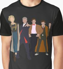 Doctor Who - All Five Modern Doctors - New Costume! (DW Inspired) Graphic T-Shirt