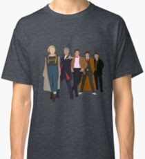 Doctor Who - All Five Modern Doctors - New Costume! (DW Inspired) Classic T-Shirt