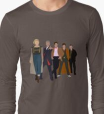 Doctor Who - All Five Modern Doctors - New Costume! (DW Inspired) T-Shirt