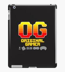 OG: Original Gamer (for darker colors) iPad Case/Skin