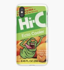 Ghostbusters Hi-C Ecto Cooler iPhone Case/Skin