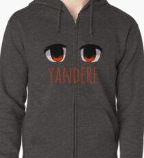 Yandere Zipped Hoodie