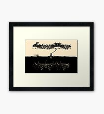 A Tale of Infinite Cities (Landscape) Framed Print