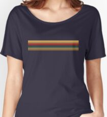 13th Doctor Rainbow Top Women's Relaxed Fit T-Shirt