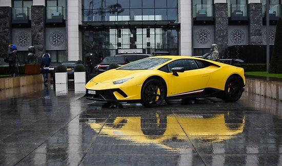 Lamborghini Huracan Performante Posters By Dutchstylez Redbubble