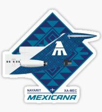 B727 NAYARIT Sticker