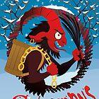 « Silly beasty : Merry Krampus! » par Valériane Duvivier