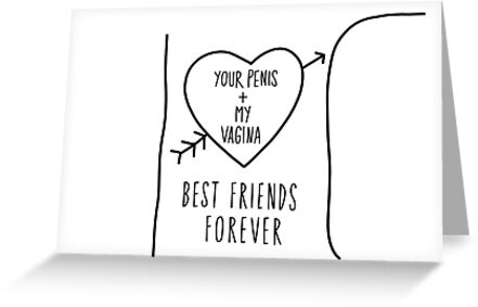 Boyfriend Greeting Card Best Friends Forever