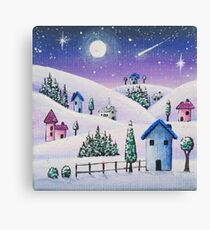 Twinkle Town Canvas Print