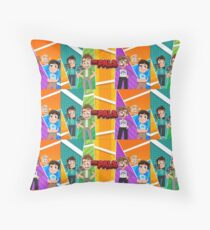 The Pals Throw Pillow