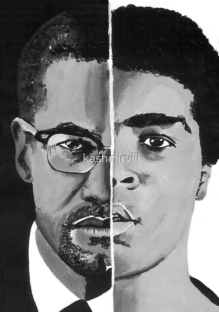 Malcolm/Ali by Kashmir Thompson