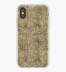 Egyptian Hieroglyphics iPhone Case
