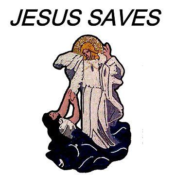 'JESUS SAVES' by Arrow