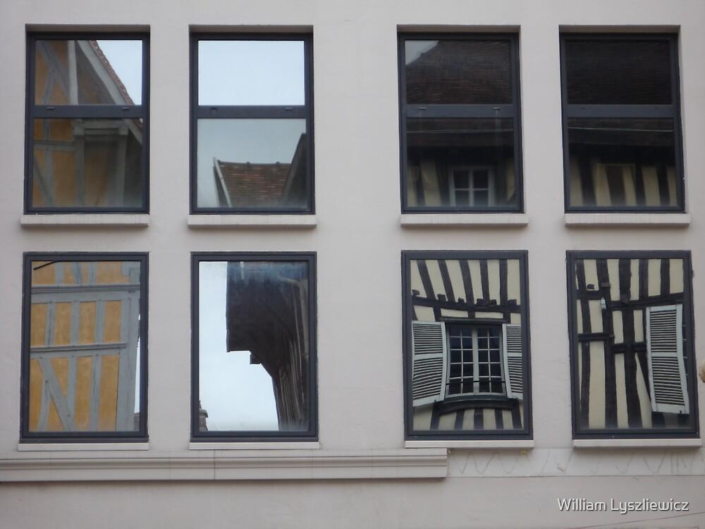 rue Jean Jaurès. Troyes by william lyszliewicz