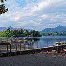 Derwent Water Cumbria by Mark Baldwyn