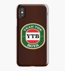 YEAH THE BOYS iPhone Case/Skin