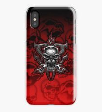 Terminator Skull Chrome Illustration iPhone Case/Skin