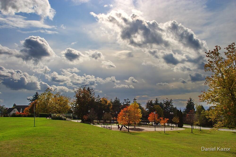 Autumn Clouds by Daniel Kazor