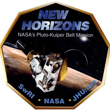 New Horizons Operations Team Logo by Spacestuffplus