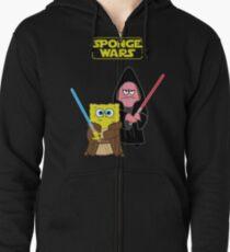 Sponge Wars Zipped Hoodie