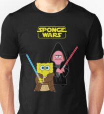 Sponge Wars Slim Fit T-Shirt