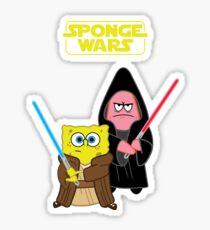 Sponge Wars Sticker
