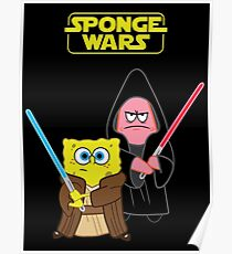 Sponge Wars Poster