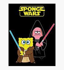 Sponge Wars Photographic Print