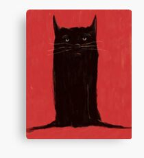 Sid the Cat Canvas Print