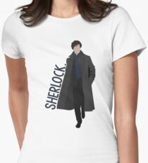 Sherlock Camiseta entallada