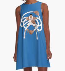 Mr. Triple Double Westbrook  A-Line Dress
