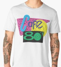 Back To The Cafe 80's Men's Premium T-Shirt