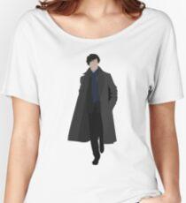 Sherlock Camiseta ancha