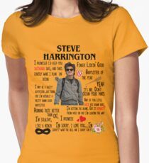 Steve Montage Picture Women's Fitted T-Shirt