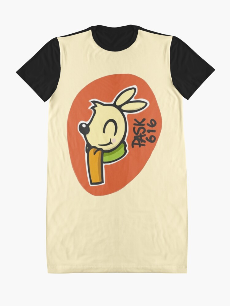Alternative Ansicht von Häschen Benny T-Shirt Kleid