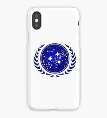 United Federation of Planets Logo iPhone Case/Skin