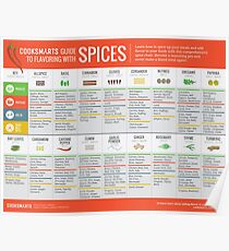 Cook Smarts' Guide to Flavoring with Spices Poster