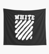 Off White Grunge Wall Tapestry