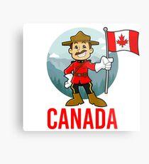 Canada Mountie  Metal Print