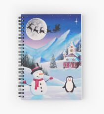 A Festive Welcome Spiral Notebook