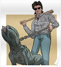 Stranger Things GTA Style Poster