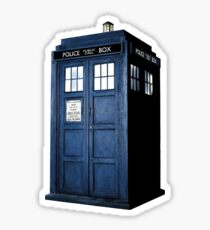 Ideal DOCTOR WHO TARDIS Sticker